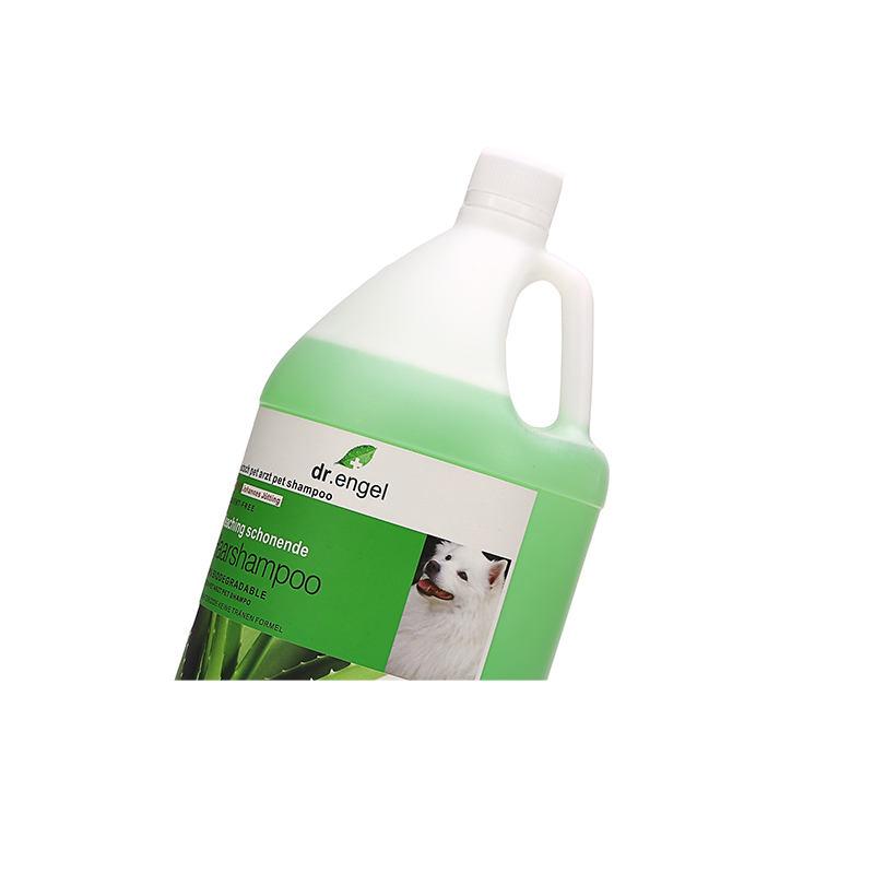Aloe vera white hair shampoo   (for white dogs)